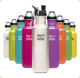 Klean Kanteen's range of colors
