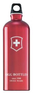The classic red Sigg bottle