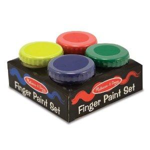 melissa and doug finger paint set